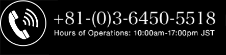 +81-(0)3-6450-5518 Hours of Operations: 10:00am-17:00pm JST Mailing Address Empath Inc. 6-18-13, Jingumae, Shibuya-ku, Tokyo, Japan, 1500001